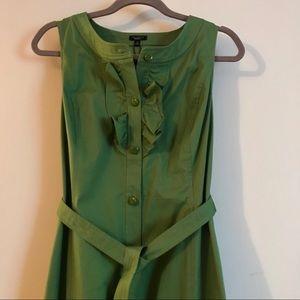 NWT Talbots Sleeveless Stretch Cotton Dress